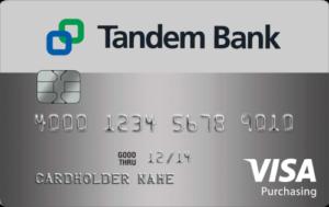 Tandem Bank Purchase Credit Card